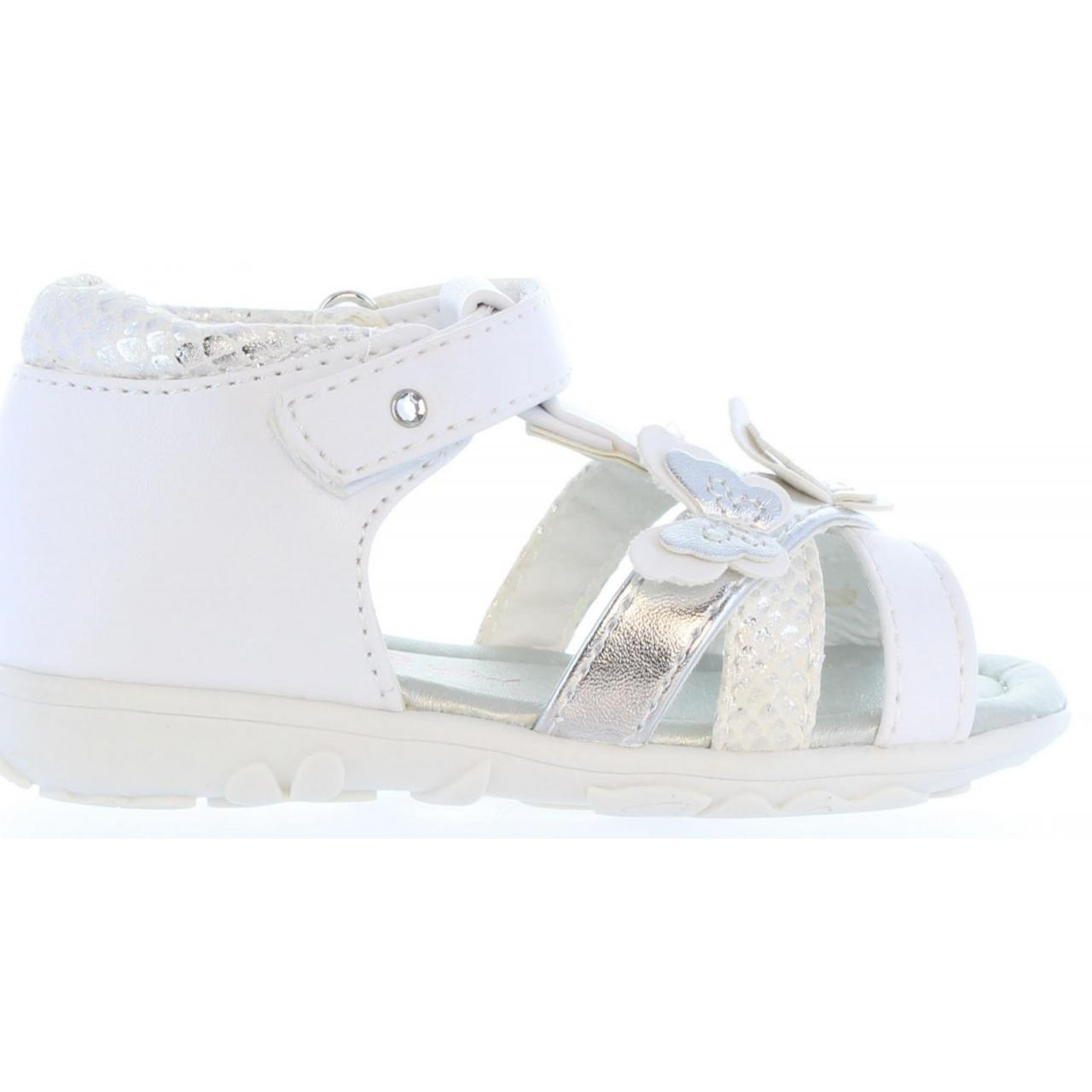Sandals Girl Flower Girl 299790 B1080 White Silver