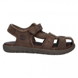 Sandalias TIMBERLAND  de Niño y Niña A24WE Nubble DARK BROWN