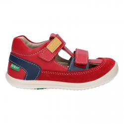 Zapatos KICKERS  de Niño 692390-10 KID 4 ROUGE