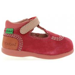 Zapatos de Niño y Niña KICKERS 413122-10 BABYFRESH 43 ROUGE ROSE