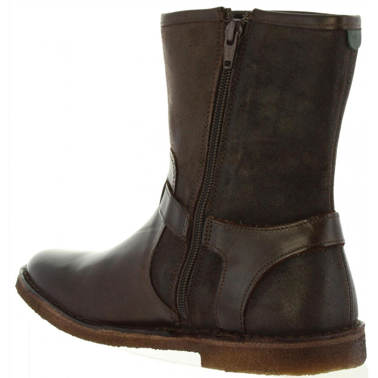 Botas Kickers De Piel Marrón - 577411-50 CREEK 92 MARRON