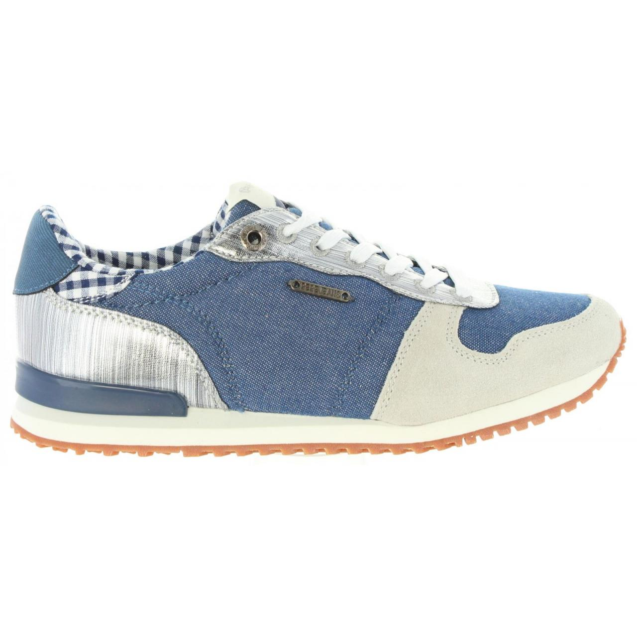 Zapatillas Deporte Pepe Jeans blue - PLS30616 GABLE 585 MARINE