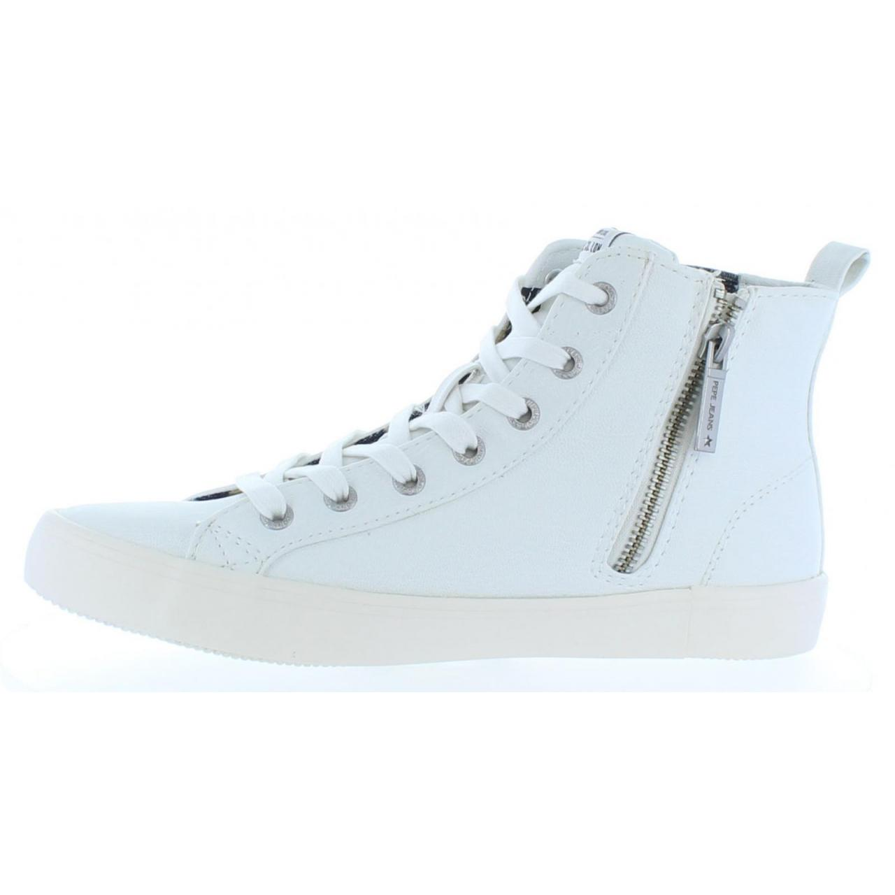 Botines Pepe Jeans Blanco - PLS30361 CLINTON 800 WEISS